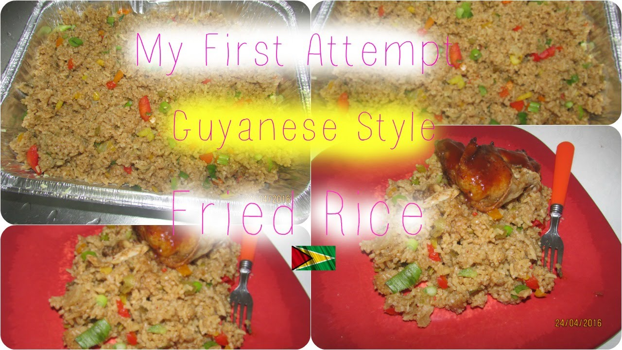 First time cooking guyanese style fried rice youtube first time cooking guyanese style fried rice forumfinder Images