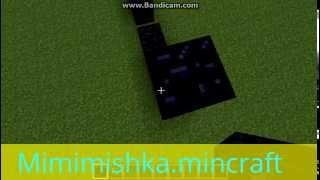 видео Как сделать портал в сумеречный лес в Minecraft туда и назад