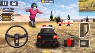 ألعاب السيارات للأطفال - سيارة شرطة - ألعاب السيارات للأطفال - سيارات اطفال - e#36 - KIDS CARS