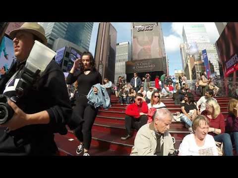[4K] Walking to Times Square, NYC from Broadway & 56th Street