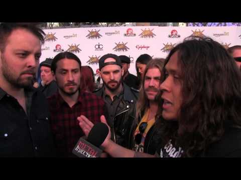 Wovenwar (ex- As I Lay Dying) at REVOLVER GOLDEN GODS 2014 | Metal Injection