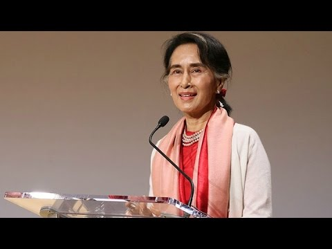 Aung San Suu Kyi: 'Human Rights Are Human Needs'