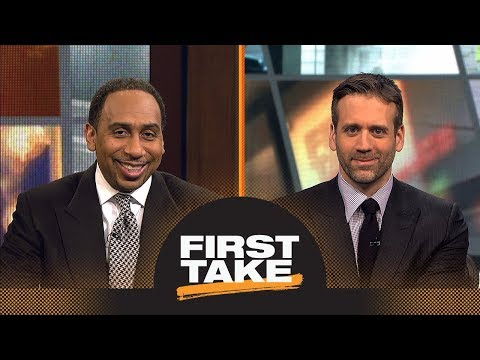 Stephen A. Smith and Max debate if all-SEC Championship is good for football | First Take | ESPN