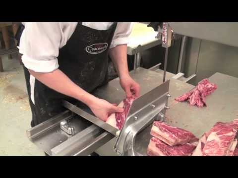 Cumbraes: A Day with the Staff at the Butcher Shop