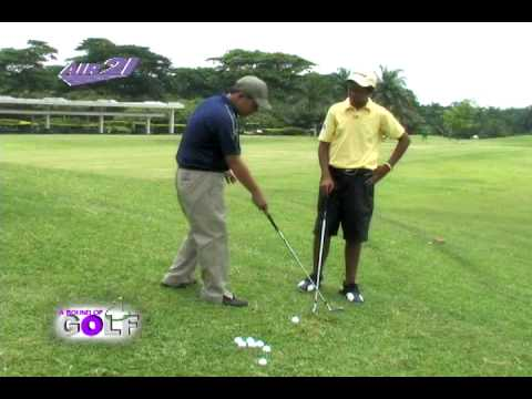 Golf Guru - How To Find The Bottom Of Your Swing For A More Solid Contact