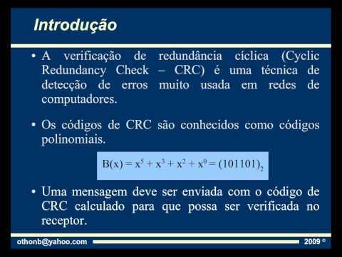 Cálculo de CRC - Parte 1