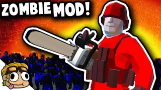 Black Hole Rifle Vs Zombie Hordes Ravenfield Mod Gameplay