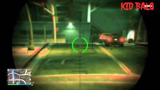 GTA 5   SNIPER TUTORIAL   How To Zoom, Roll, and Shoot!!