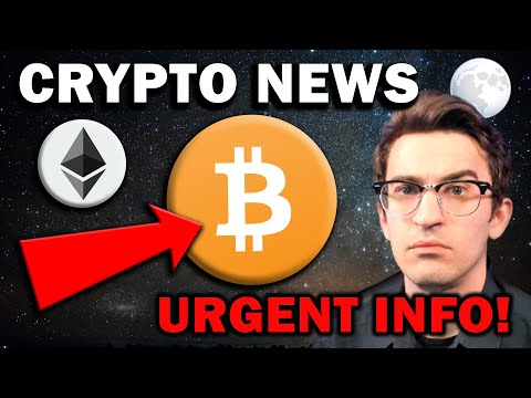 URGENT CRYPTO NEWS!!! This Is Holding BTC and ETH Back