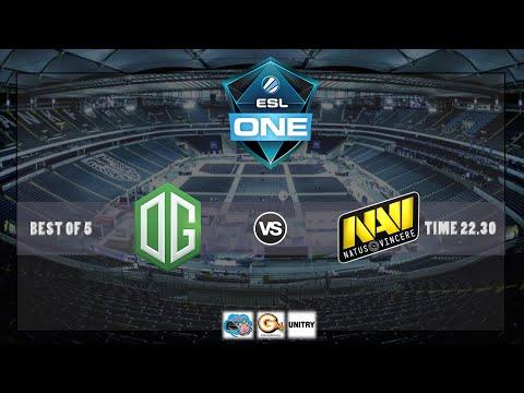 [ DOTA2 ] ESL One 2016 - Frankfurt - Natus Vincere VS OG #BO5