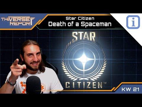 Star Citizen Death of a Spaceman Mechanik | SCB Verse Report [Deutsch/German]