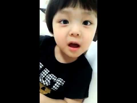 Cute Korean baby
