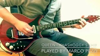 Queen - Khashoggy's Ship Cover on Red Special guitar