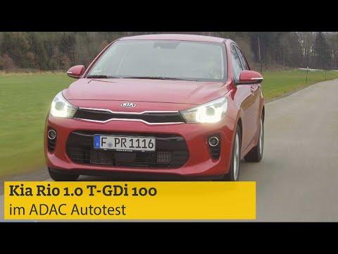 ADAC Autotest Kia Rio 1.0 T-GDi 100 I ADAC 2019