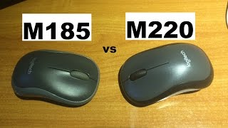 Logitech M185 vs M220 Silent