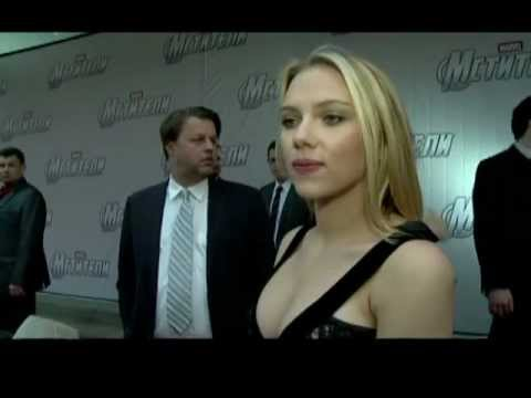 The Avengers: Moscow Premiere Scarlett Johansson Interview