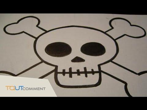 Vote no on comment dessiner une - Dessiner une tete de mort ...