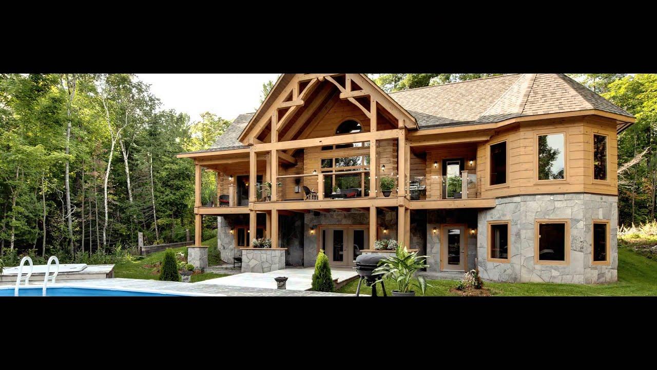 Log Homes In Canada September 2015 Youtube