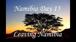 Namibia road trip final day. A Namibian Travel Vlog by Travel with Simon.