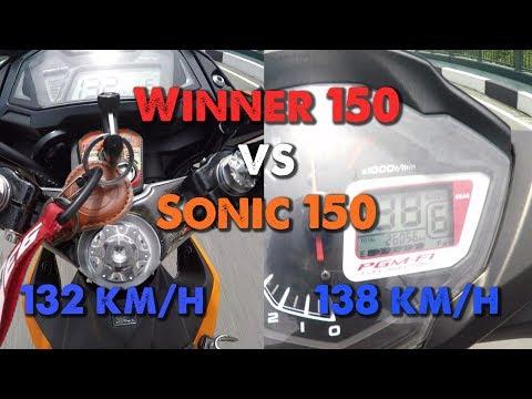 Winner 150 vs Sonic 150 - TEST SPEED và thực hư kèo 20 triệu | MinC Motovlog