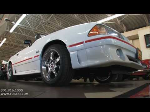 1988 Ford Mustang GT Convertible for sale with test drive, driving sounds, and walk through video