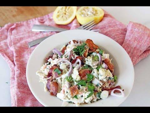 Bacon Blue Cheese Coleslaw Recipe