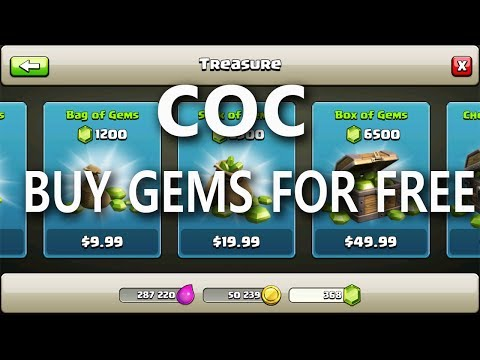 Clash of clans buy free gems trick || google opinion reward buy coc gems
