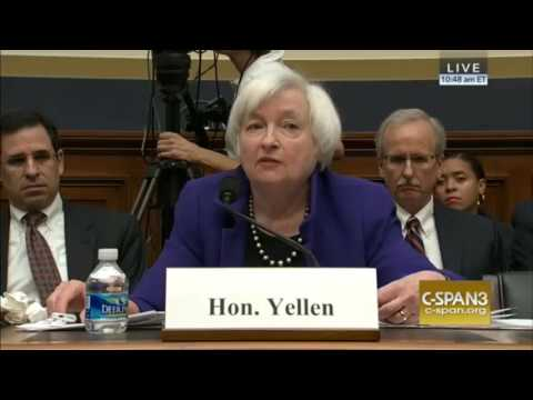 Federal Reserve Chair Janet Yellen Testifies on Oversight Operations (09/28/2016)
