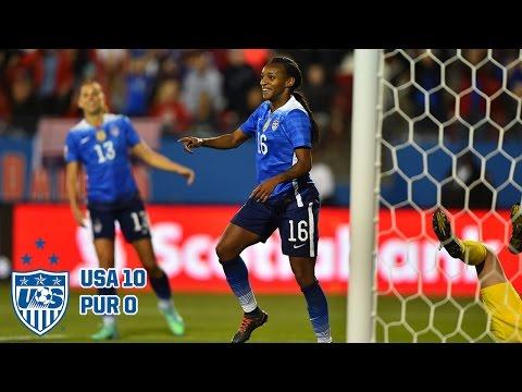 WNT vs. Puerto Rico: Highlights - Feb. 15, 2016