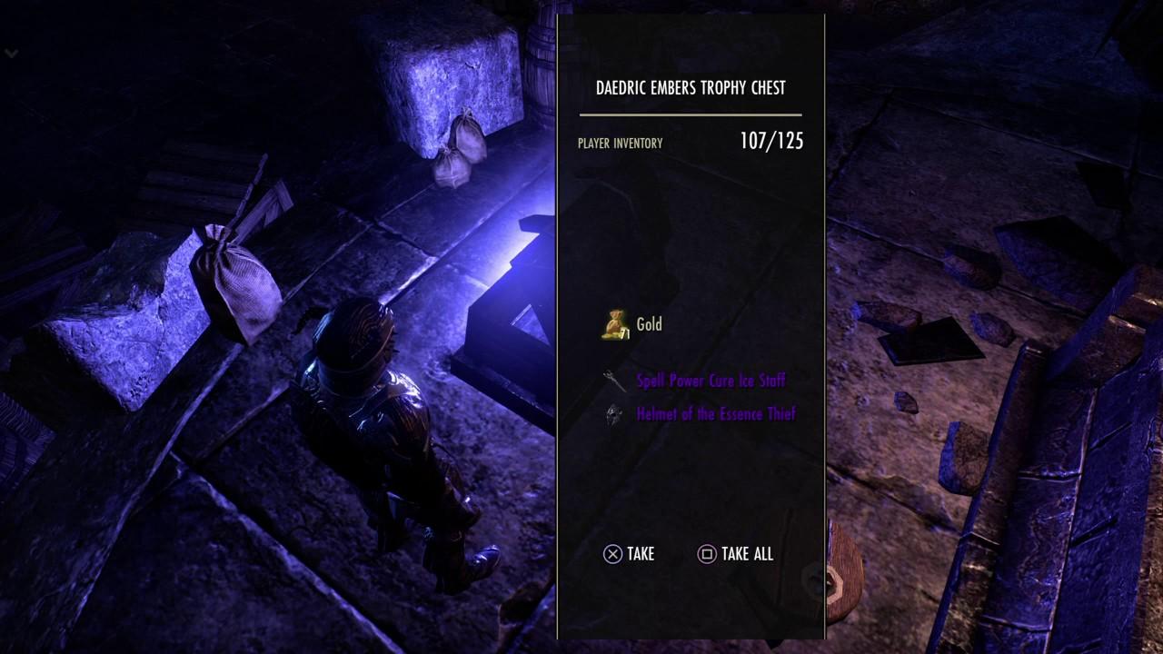 The Elder Scrolls Online using 150 key fragments
