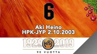 Joulukalenteri #6, Aki Heinon viimeinen maali HPK-paidassa