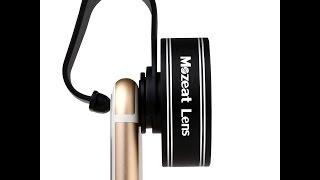 Lente profesional Mozeat 2X HD 60mm. Fotografía profesional para Smartphone, iphone,tablet,ipad
