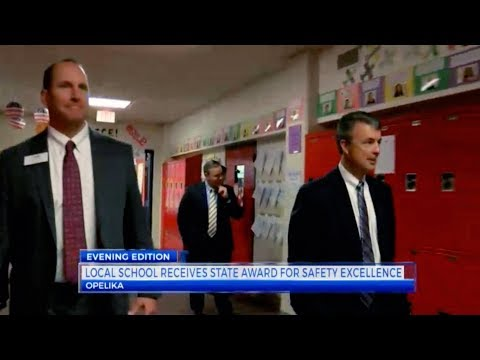 WRBL News 3 Report on Opelika Middle School Winning an Alabama Safe Schools Award