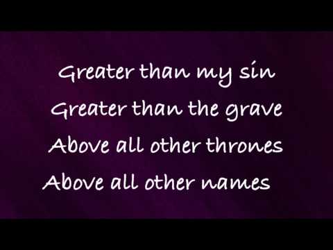 Chris Tomlin - Greater - with lyrics (2014)