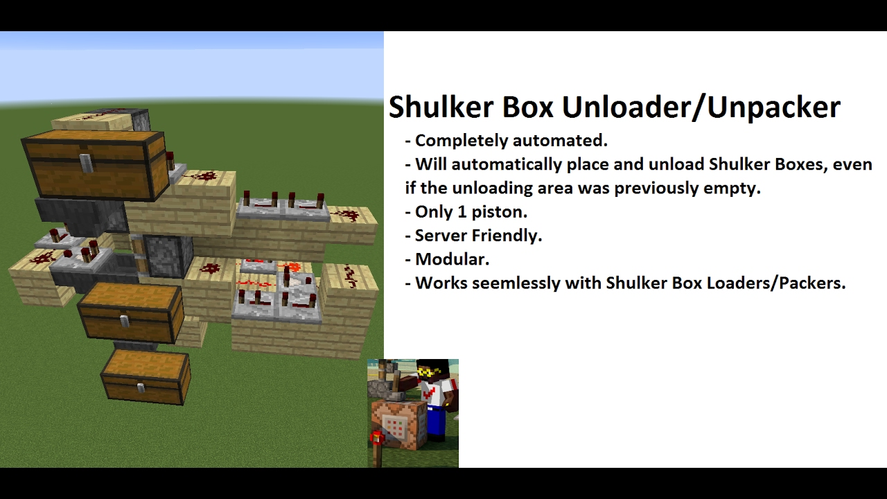 how to make a shulker box swapper