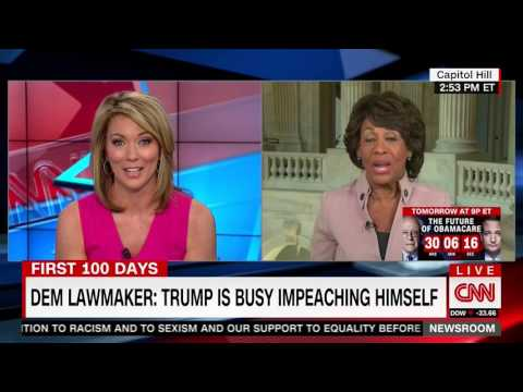 Maxine Waters Doubles Down on Impeachment Claims