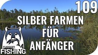 RUSSIAN FISHING 4 #109 - SILBER FARMEN FÜR ANFÄNGER! 🎣 || PantoffelPlays