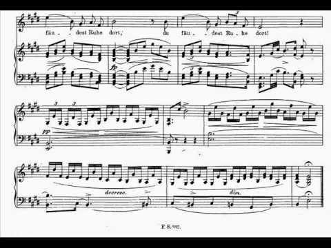 Dietrich Fischer-Dieskau sings Schuber (3/6) Der Lindenbaum, Schafers Klagelied