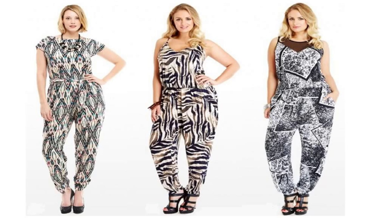 d2754d032d7 Styling Tips for Plus Size Women Jumpsuits - YouTube