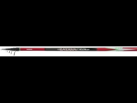 УДИЛИЩЕ ТЕЛЕСКОПИЧЕСКОЕ С КОЛЬЦАМИ SHIMANO CATANA DX TROUT TE GT 8-420 (мой взгляд )
