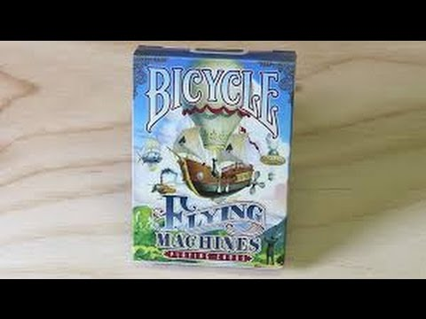 Bicycle Flying Machines Deck Review