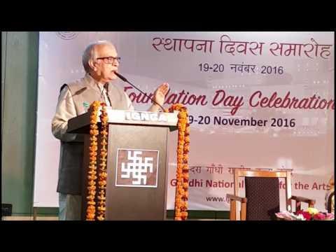 Talk on Swadeshi Indology at IGNCA, New Delhi