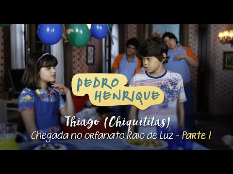 Thiago Chiquititas - Chegada no Orfanato Raio de Luz 01 - Pedro Henrique
