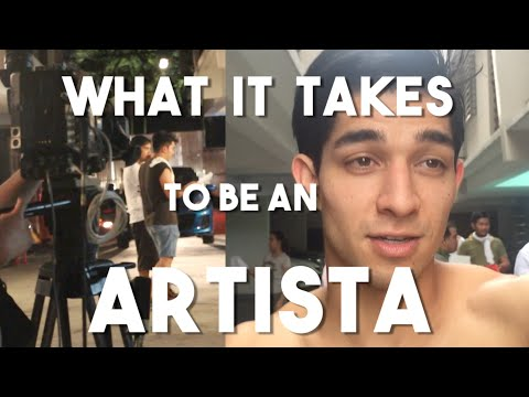 What it Takes to be a Filipino Artista (Philippines Television - Dear Uge BTS)