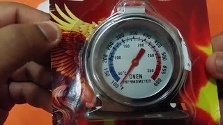 Oven Thermometer Unboxing