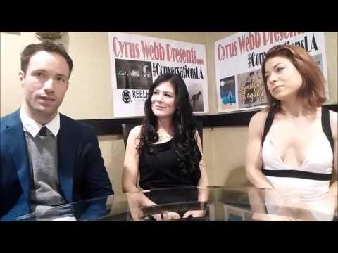 Lauran de Winter, Jessica Lindsey Gilbert & Katt Balsan on CyrusWebbPresents