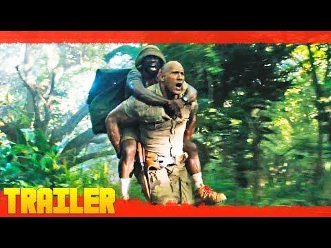 Jumanji: Bienvenidos a la jungla (2017) Nuevo Tráiler Oficial #2 Subtitulado