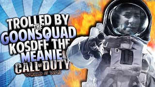 KOSDFF THE TROLL!! SPACE ZOMBIES w/ THE #GOONSQUAD!! (COD Zombies Funny Moments)