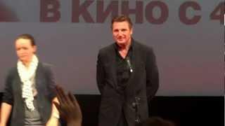 """Лиам Нисон в Москве, премьера фильма """"Заложница 2"""""""