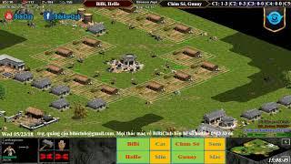 C3T1 AoE 22 Random BiBi, HeHe vs Chim Sẻ Đi Nắng, Gunny Ngà 23-05-218